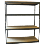 "Power Record Archive Rivet Shelving - 42"" x 30"" x 5', 5/8"" Particle Bd"